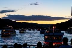 Rhein in Flammen in Bingen