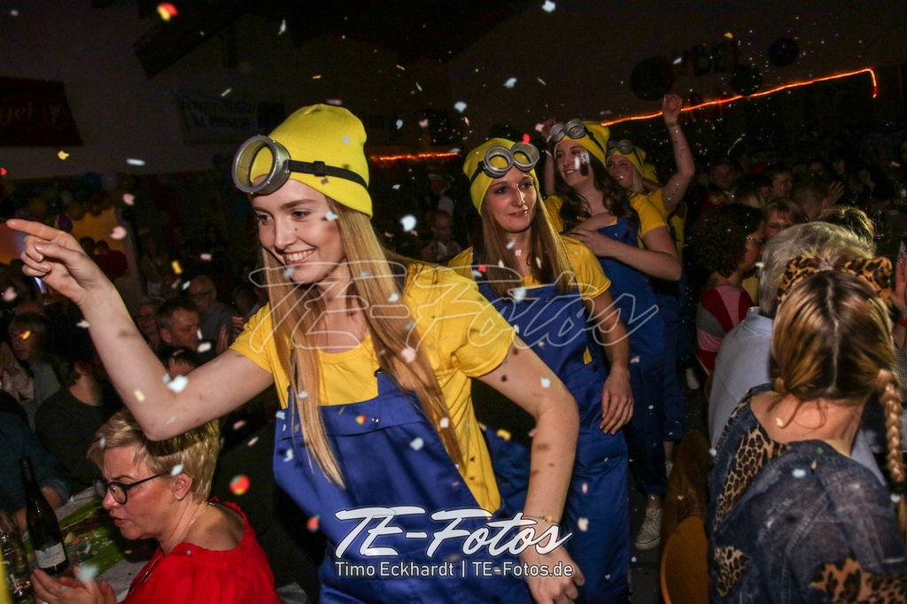 Karneval in Wiensen, Vernawahlshausen, Offensen, Schoningen - hier im Bild der Vernawahlshäuser Karneval