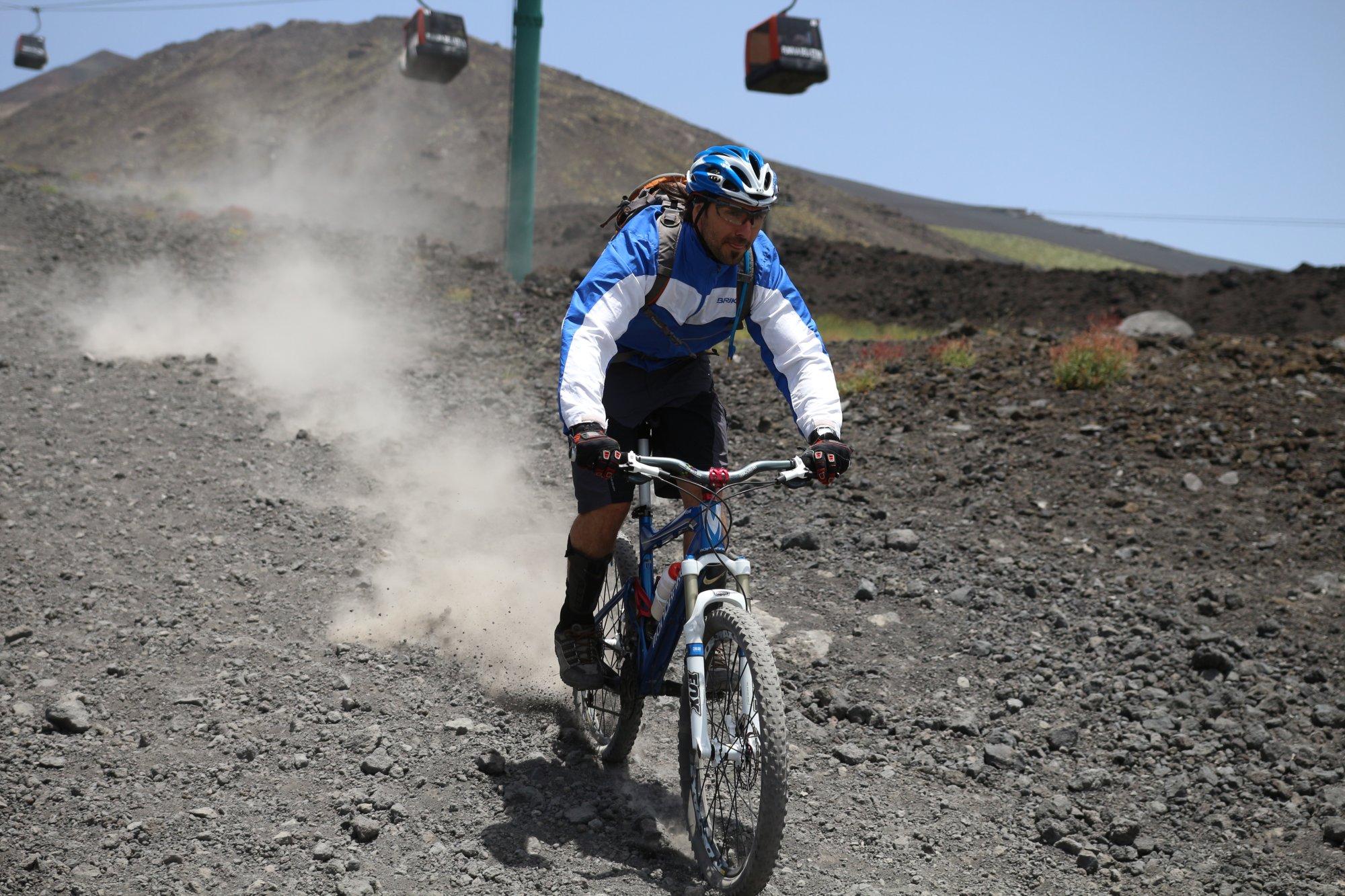 Down Hill - Mountainbike