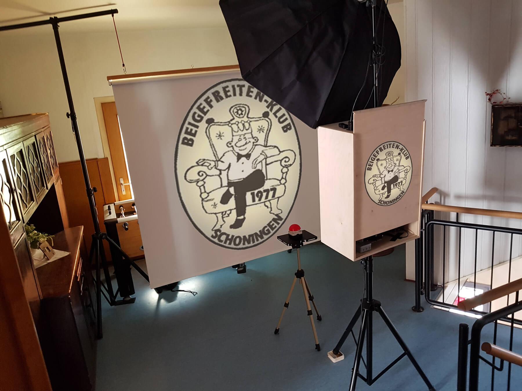 Beigefreiten-Klub Fotobox