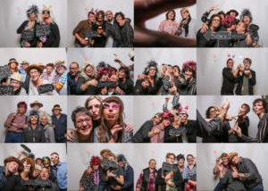 Fotobox auf Susannes Geburtstag