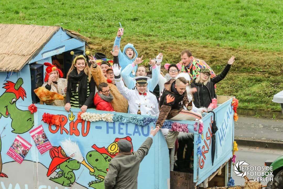60 Jahre Karneval - Karnevalsumzug in Schoningen