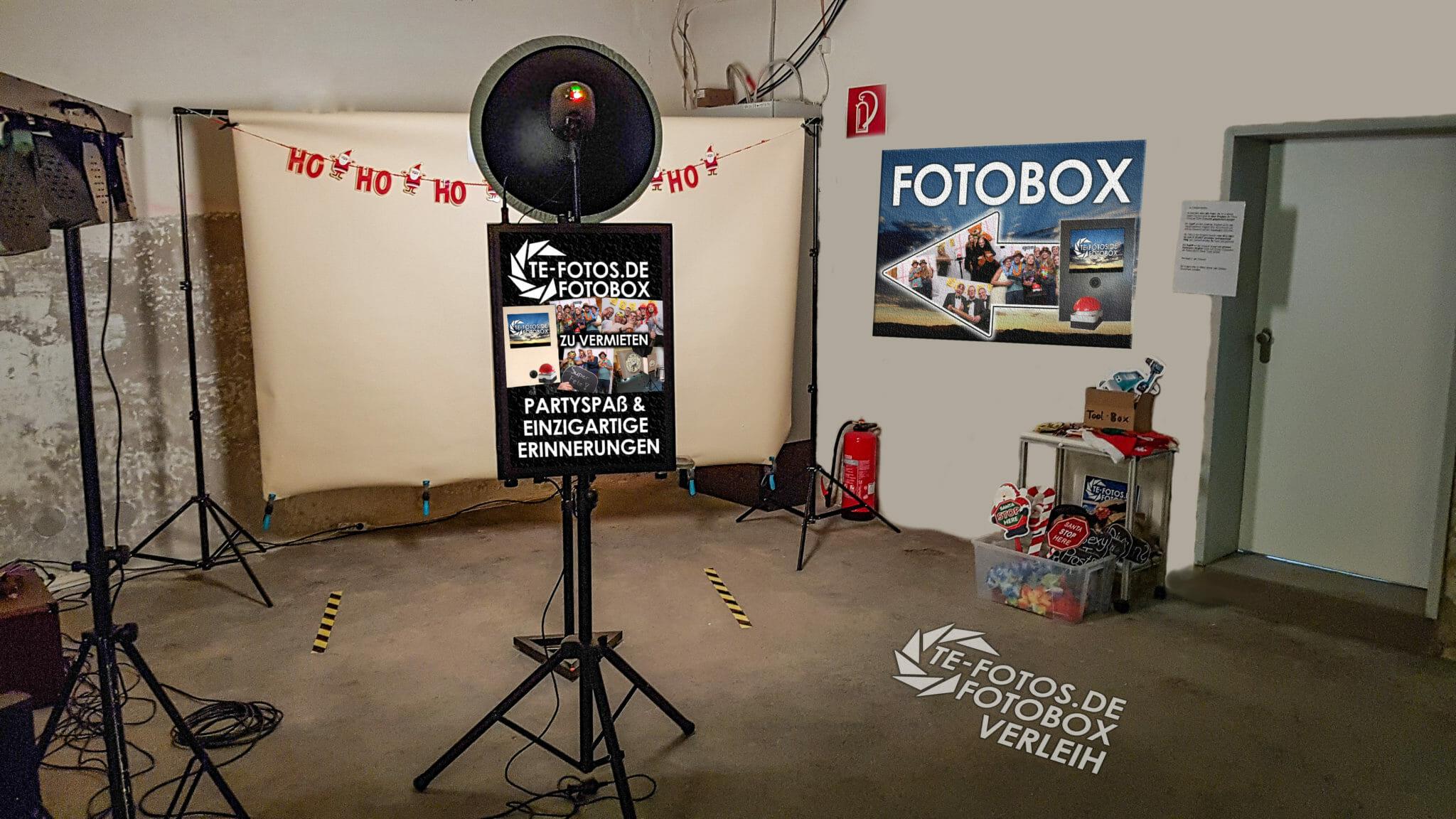 Fotobox auf der Weihnachtsfeier von Robert Bosch Power Tools