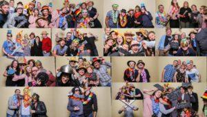 Super viel Spaß mit der Fotobox auf dem Geburtstag