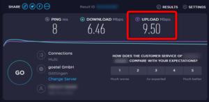 für Livestreaming - Internetgeschwindigkeit testen
