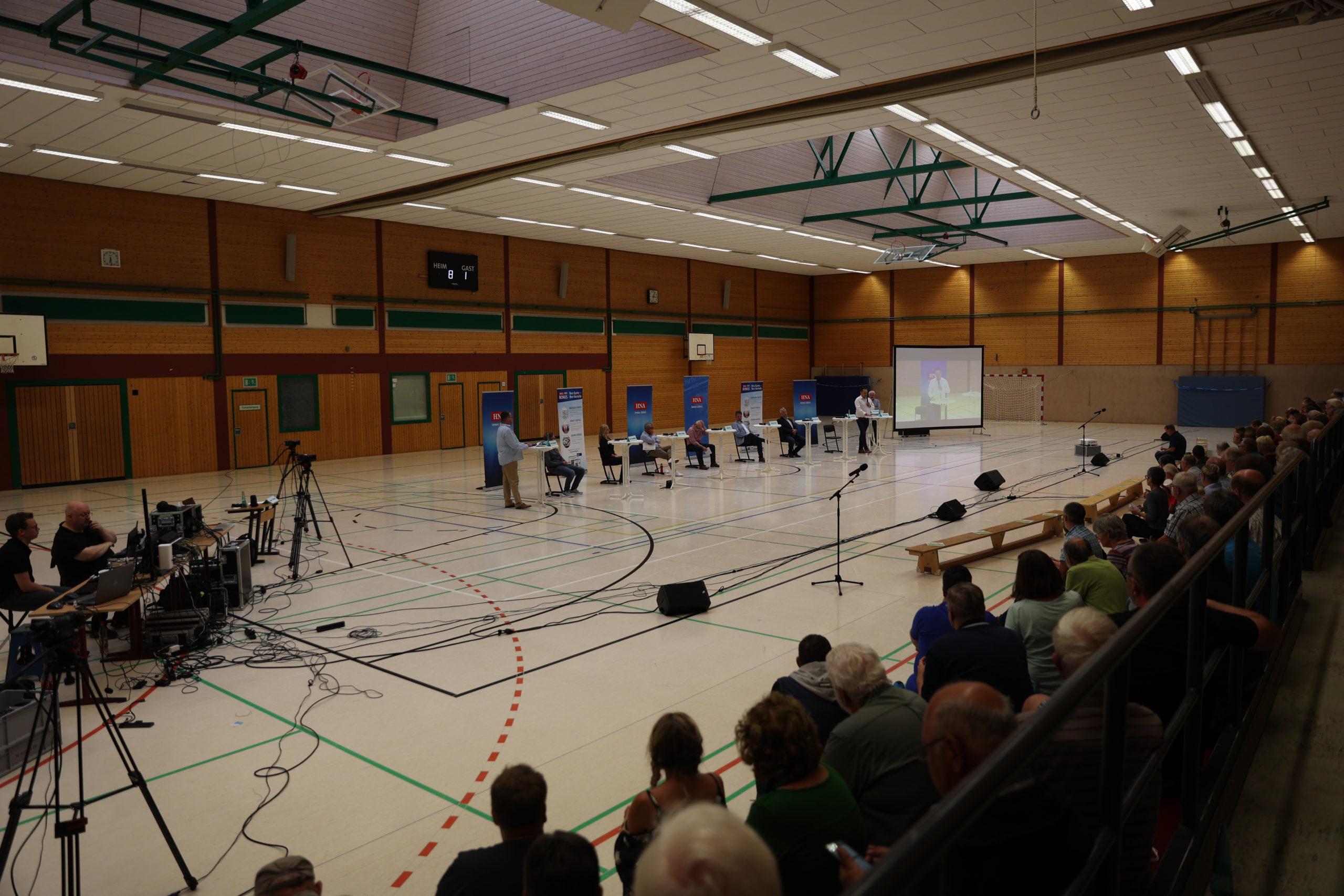 Livestream HNA Lesertreff Bodenfelde Bürgermeister Wahl 2021